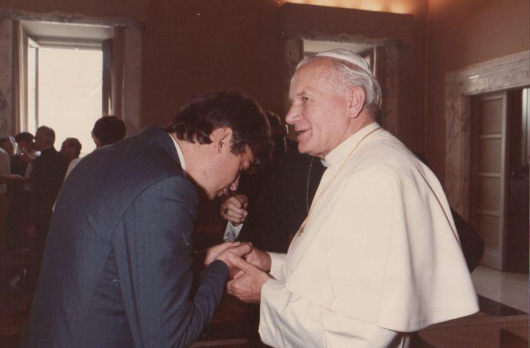 Udienza Giovanni Paolo II